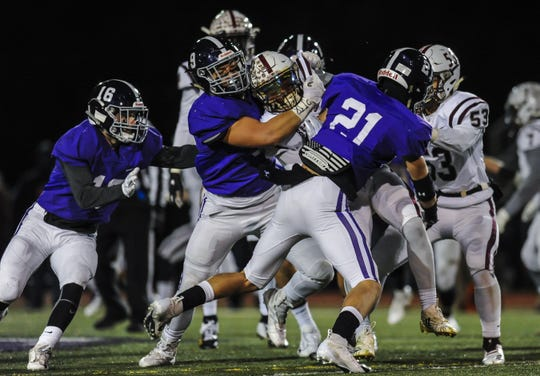 Red Bank Regional at Rumson-Fair Haven in the NJSIAA Central Group III semifinal in Rumson on Nov. 10, 2018.