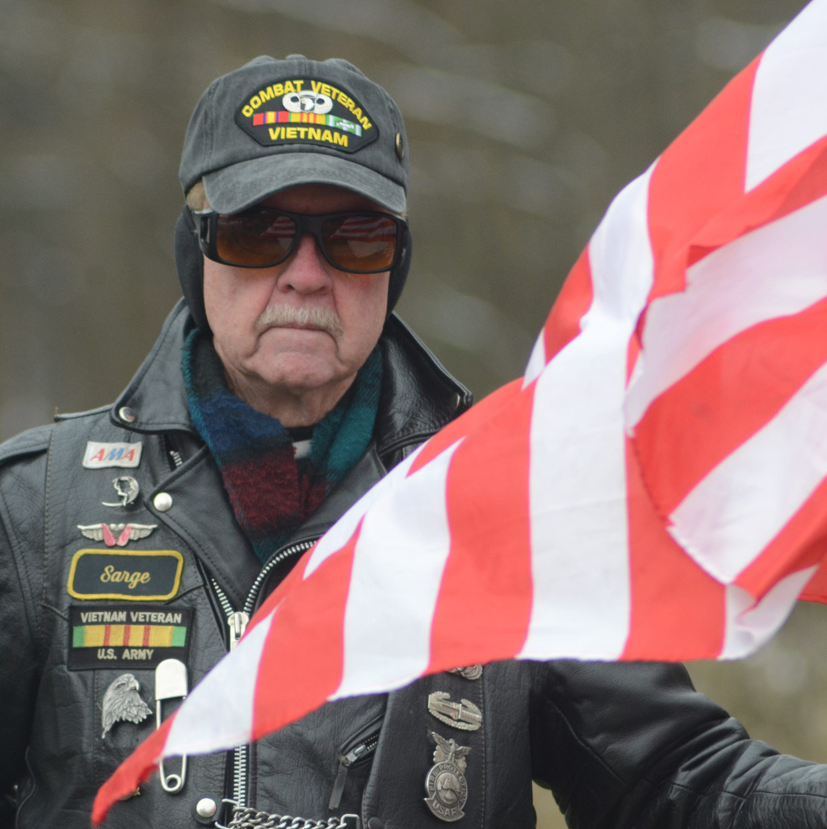 'We remember them all': Silence at Fort Custer National Cemetery marks Veterans Day