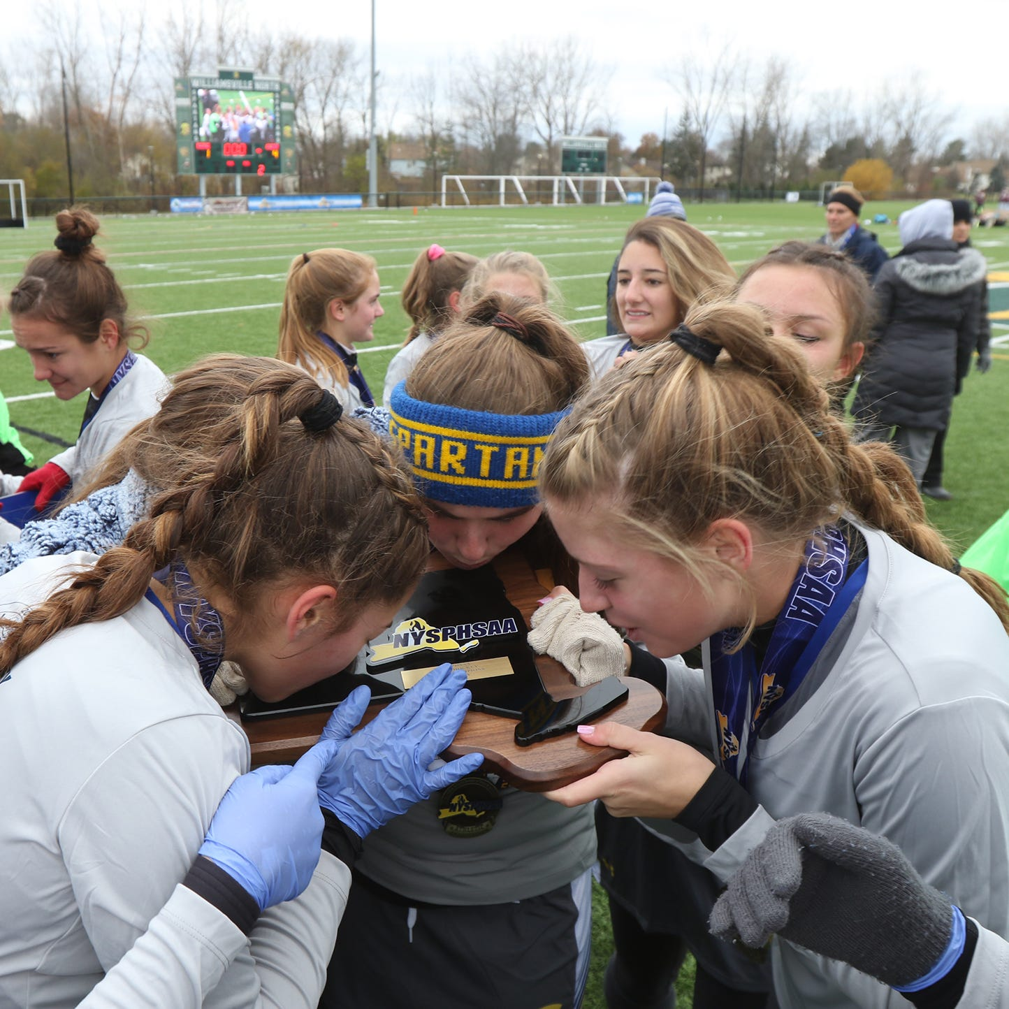 Maine-Endwell wins New York Class A field hockey championship against Williamsville North