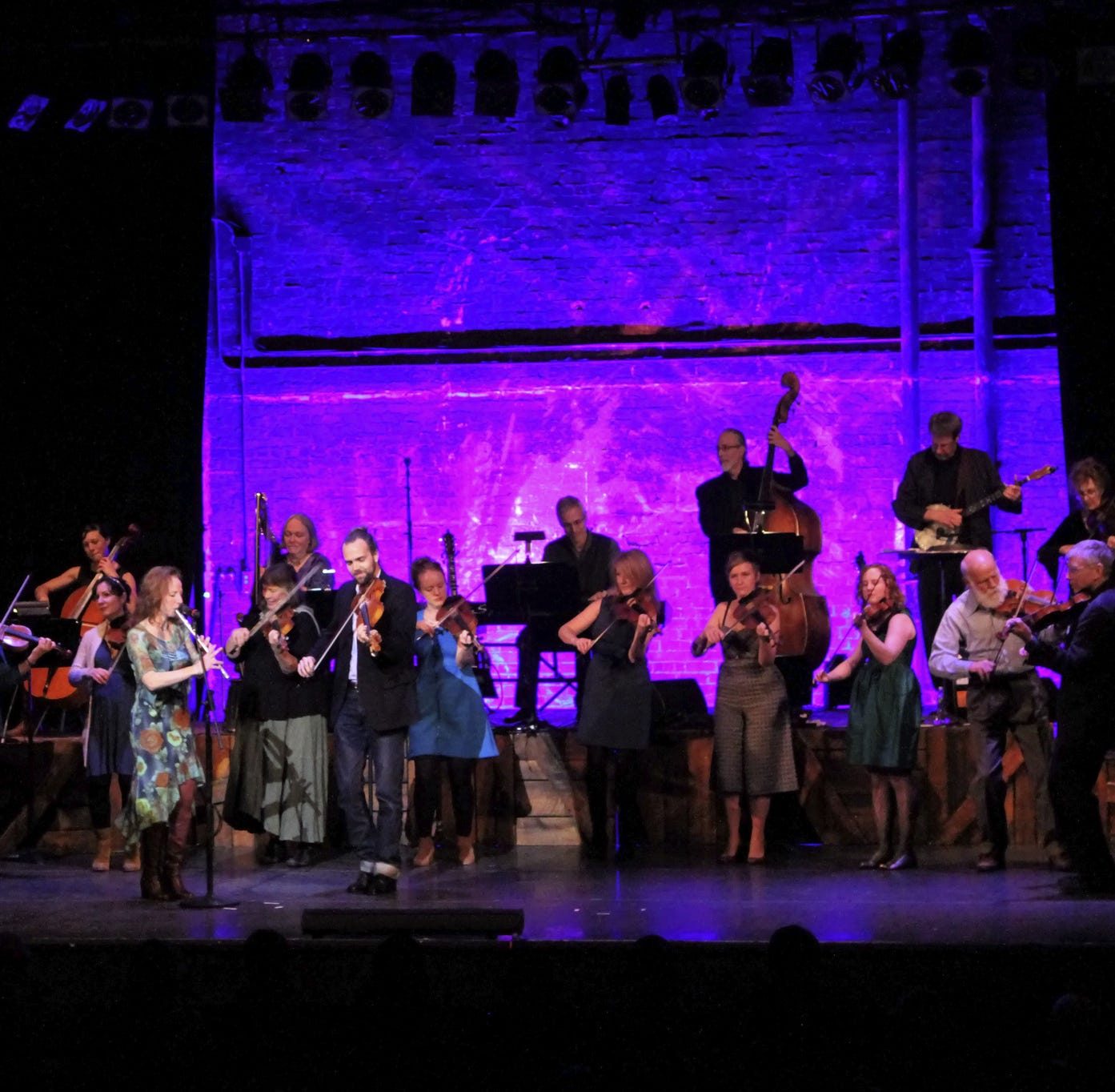 All-star fiddle troupe strung together