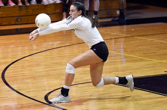 High School Volleyball Tarpon Springs At Merritt Island
