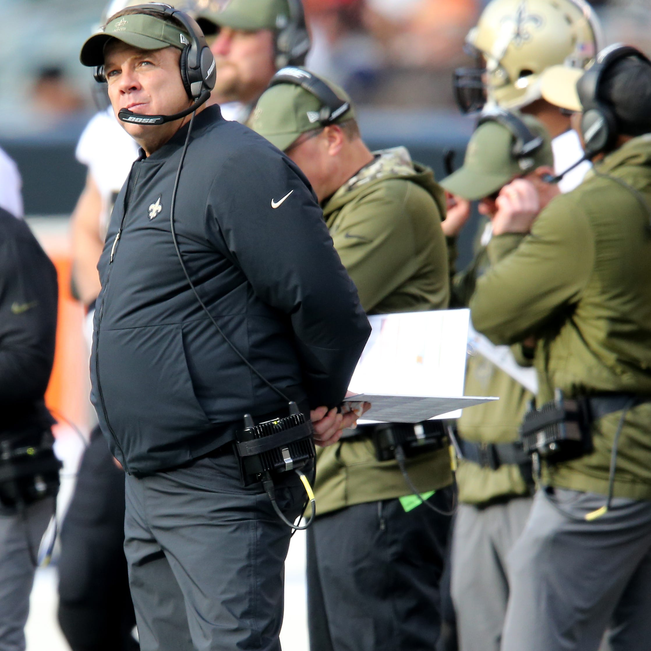 Did Saints coach smash a smoke alarm at Paul Brown Stadium? That's breaking the law
