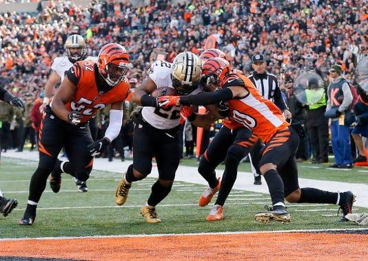 New Orleans Saints At Cincinnati Bengals