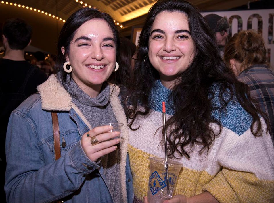 Tara and Una Yared attend the Cincinnati Coffee Festival at Music Hall Saturday, November 10, 2018 in Cincinnati, Ohio.
