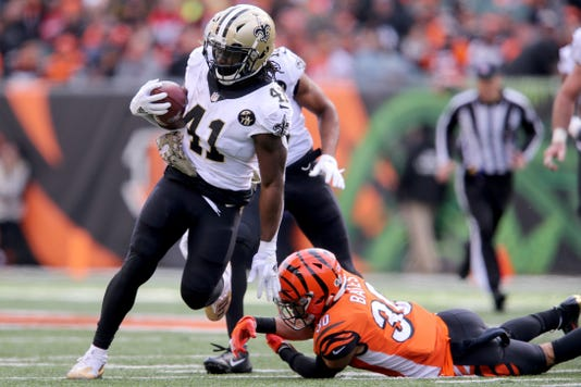 Cincinnati Bengals Vs New Orleans Saints Nov 11