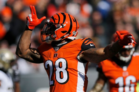 New Orleans Saints At Cincinnati Bengals