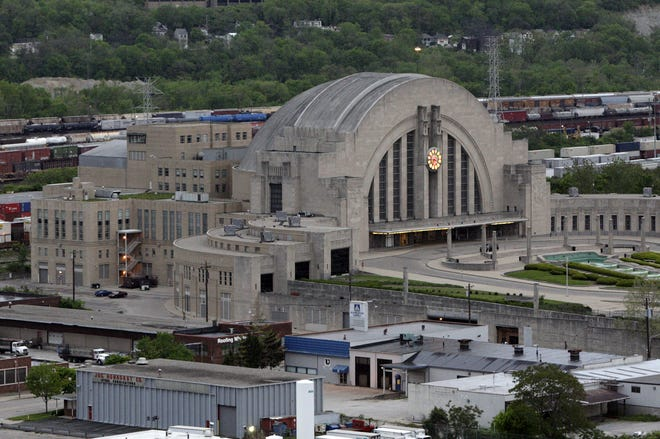 Union Terminal, where Reiss' murals were originally displayed.