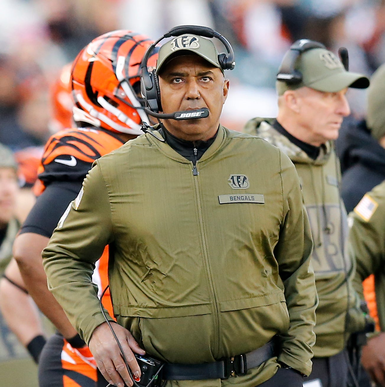 Marvin Lewis points the finger at himself with DC switch