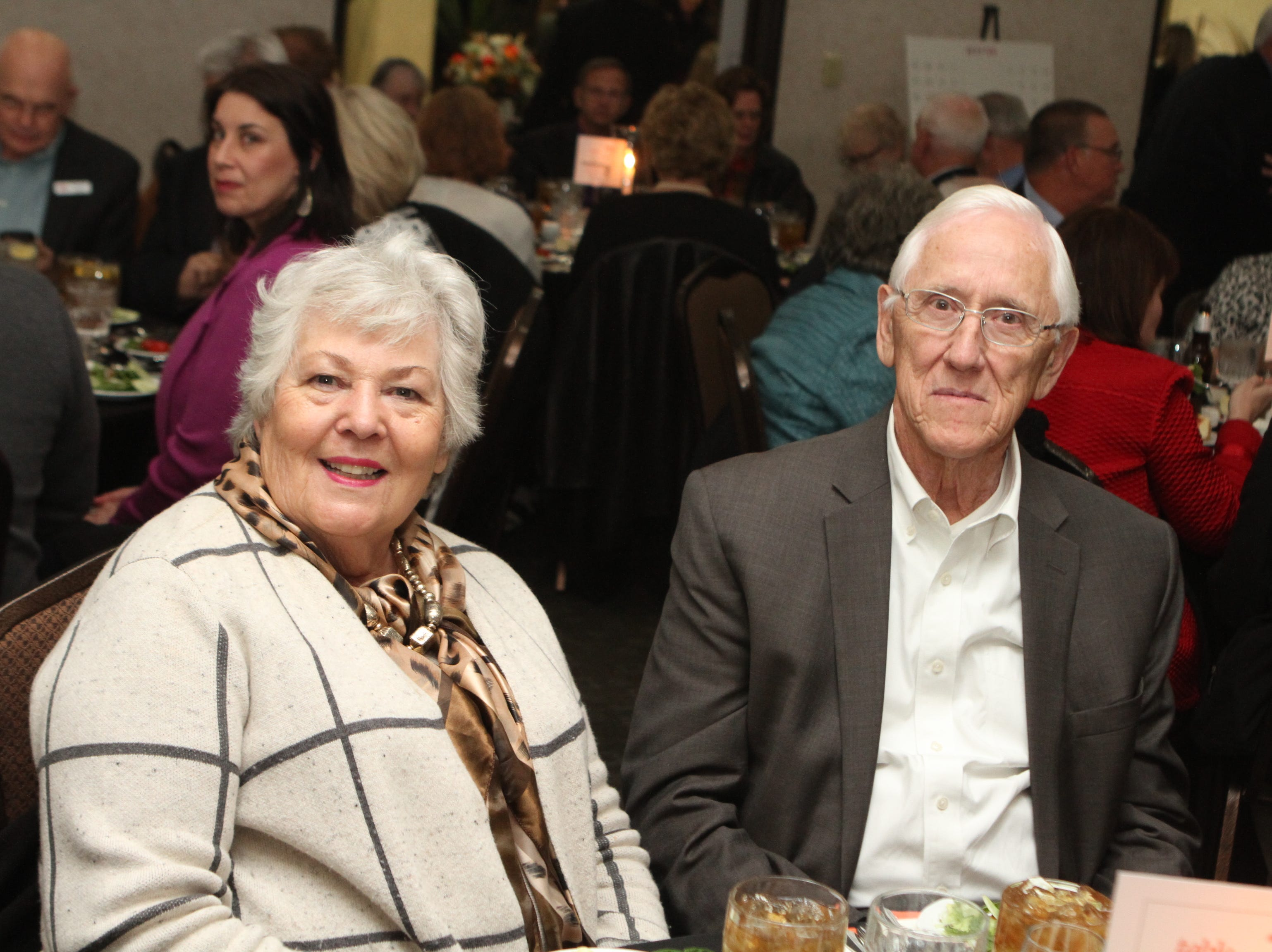 About 300 supporters came out for dinner, theater and information about the status of a new building project at the Loaves and Fishes Capital Campaign Kickoff on Saturday, Nov. 10, 2018.