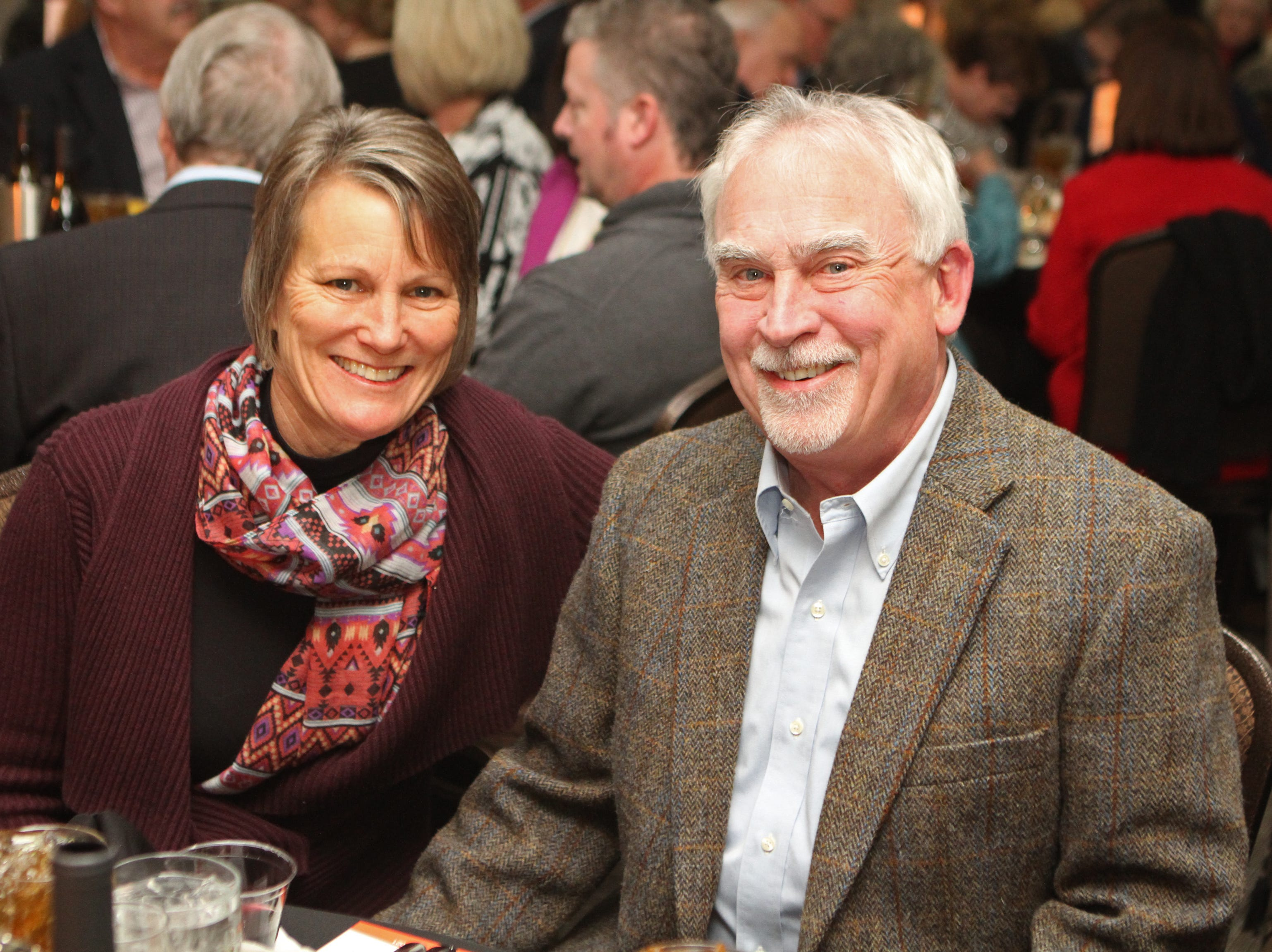 Kris and Charlie Foust at the Loaves and Fishes Capital Campaign Kickoff on Saturday, Nov. 10, 2018.
