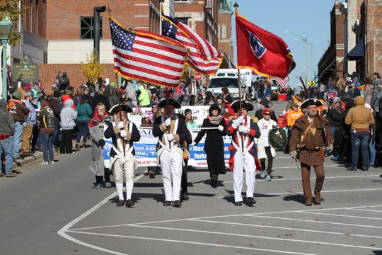 Thousands lined the streets of downtown Clarksville for the Veterans Day Parade on Saturday, Nov. 10, 2018.