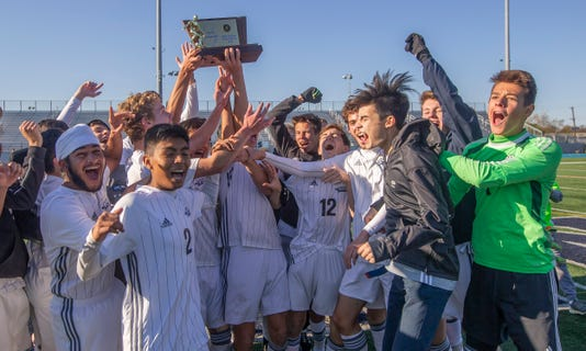 Gill St. Bernard's boys soccer