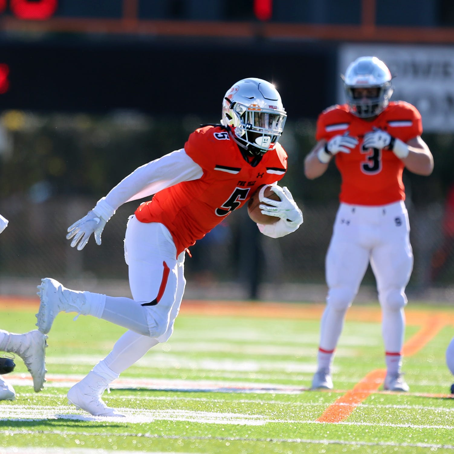 NJ FOOTBALL: Somerville digs deep to rally past Holmdel in CJIII semifinals