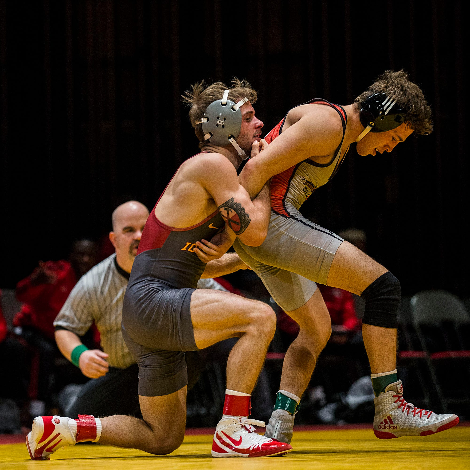 Cyclones wrestler Alex Mackall is flourishing after transferring to Iowa State