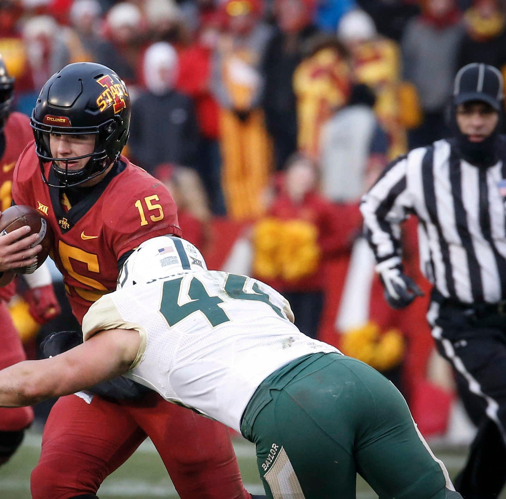 Iowa State offensive line fueled by doubters