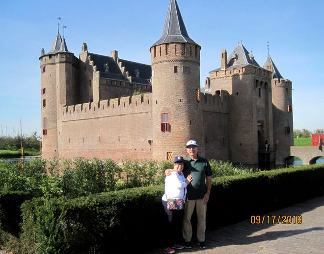 While on a Rhine River cruise, Rick and Nancy Moses of Troy took the D to medieval Muiderslot castle, a UNESCO World Heritage site, near Amsterdam. The castle was built around 1370.