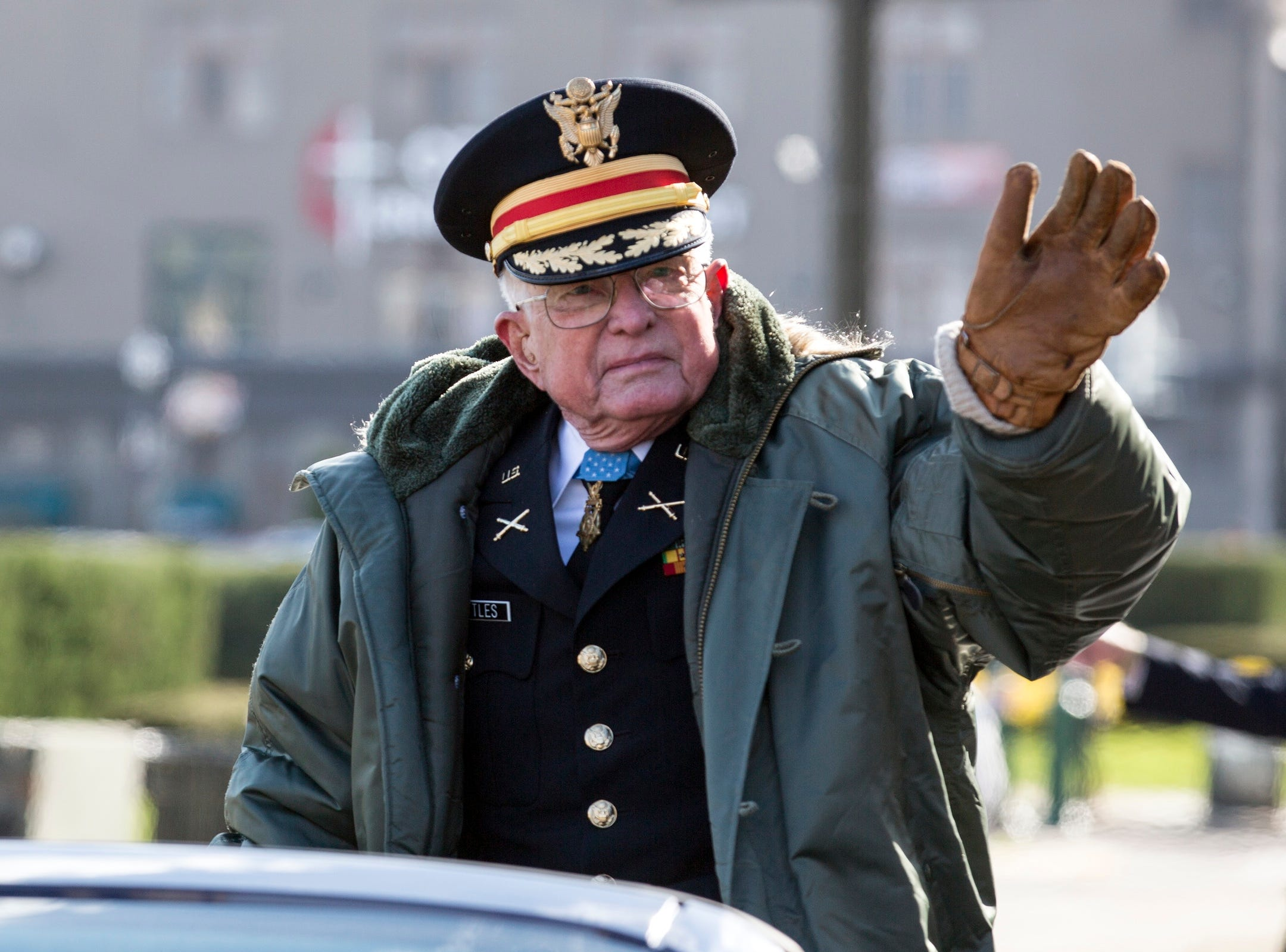 Detroit Veterans Day parade marks 100th anniversary of WWI's end
