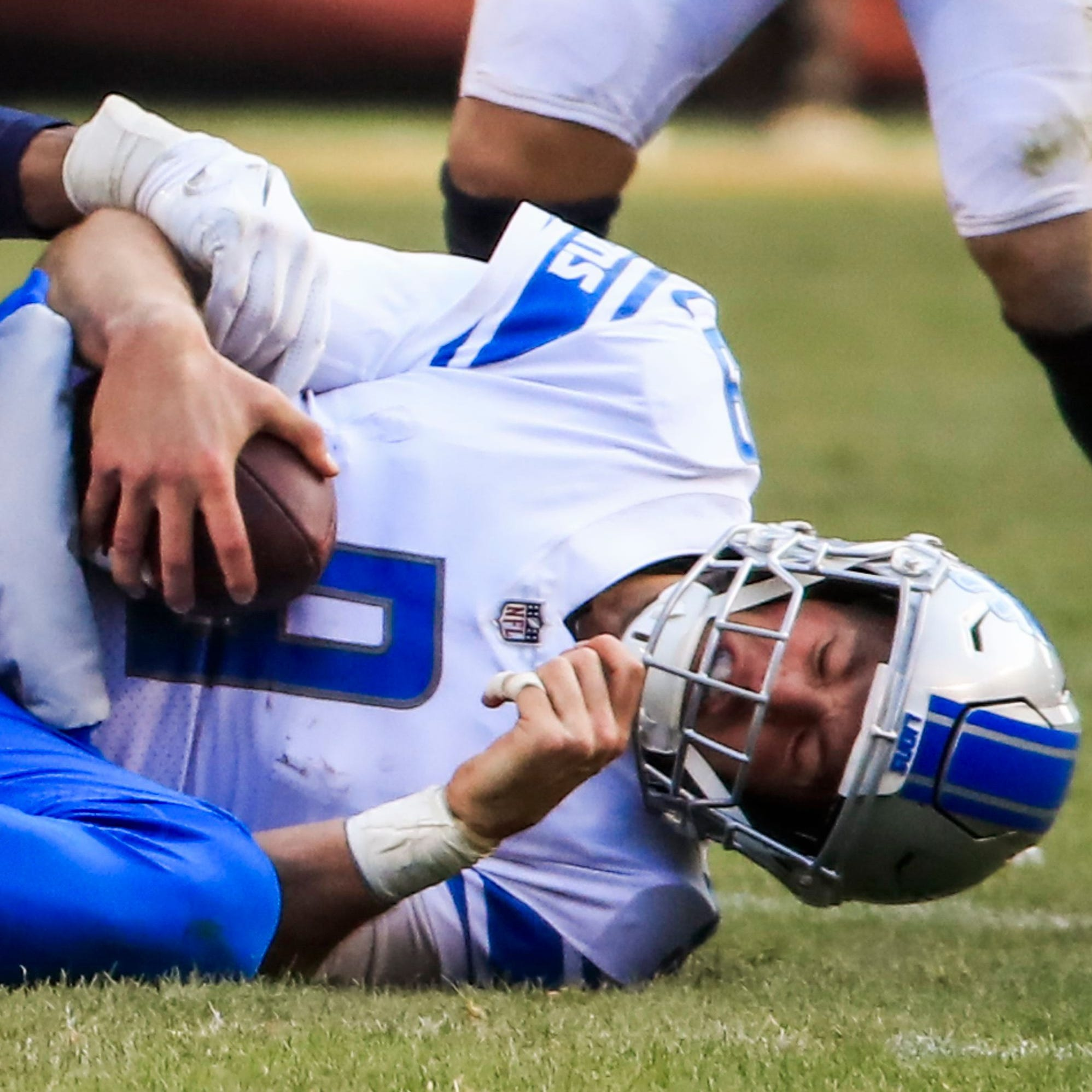 Lions' Matthew Stafford can't silence critics, may have reached ceiling