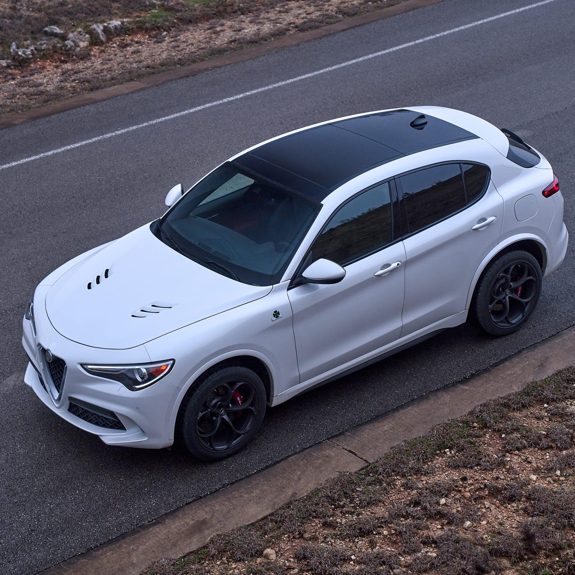 2019 Alfa Romeo Stelvio SUV doesn't look or feel like any other