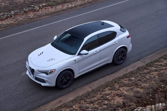 2019 Alfa Romeo Stelvio Quadrifoglio Suv Stands Out In Crowd