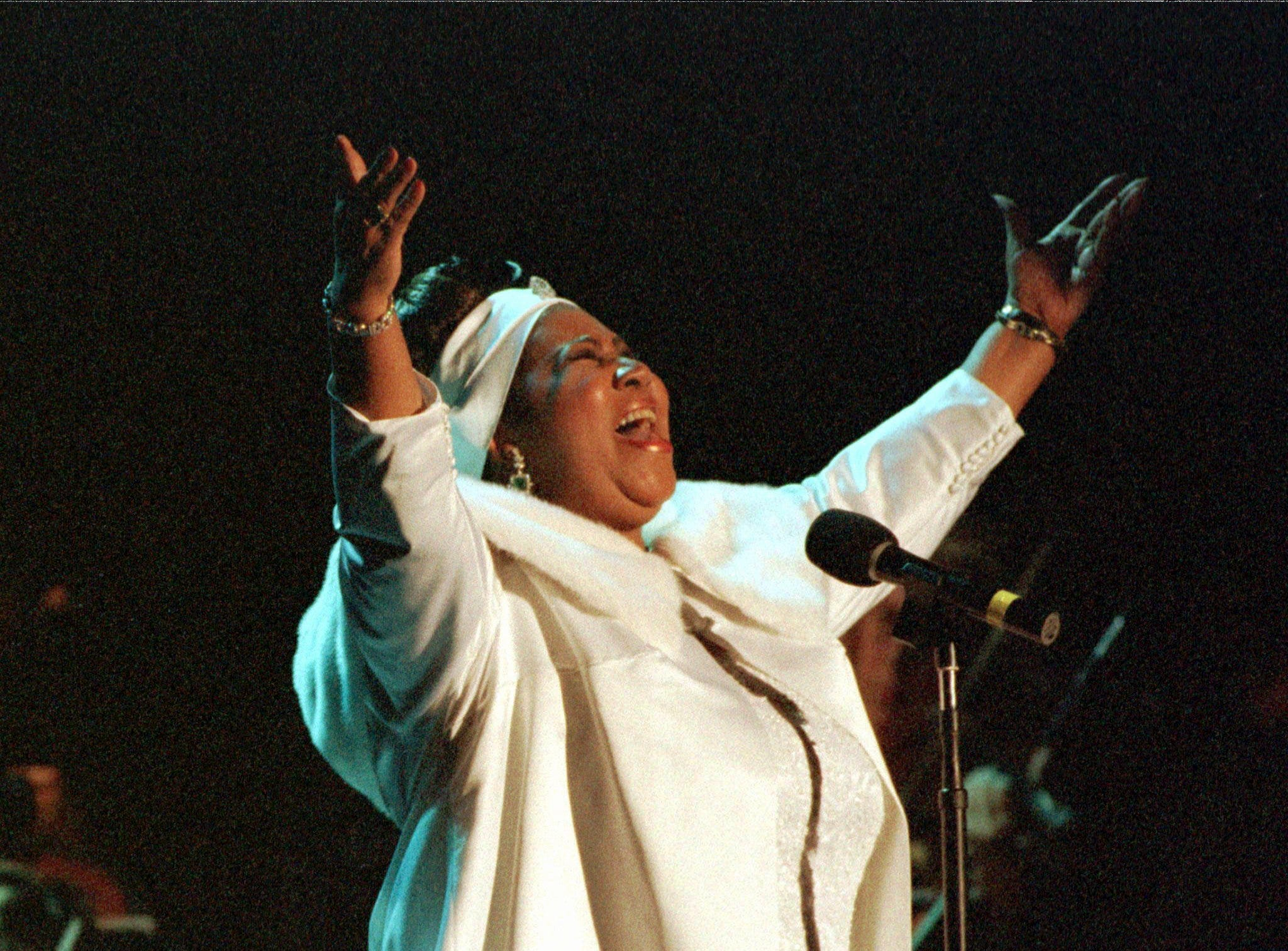 Aretha Franklin's ex-husband eyes her music royalties