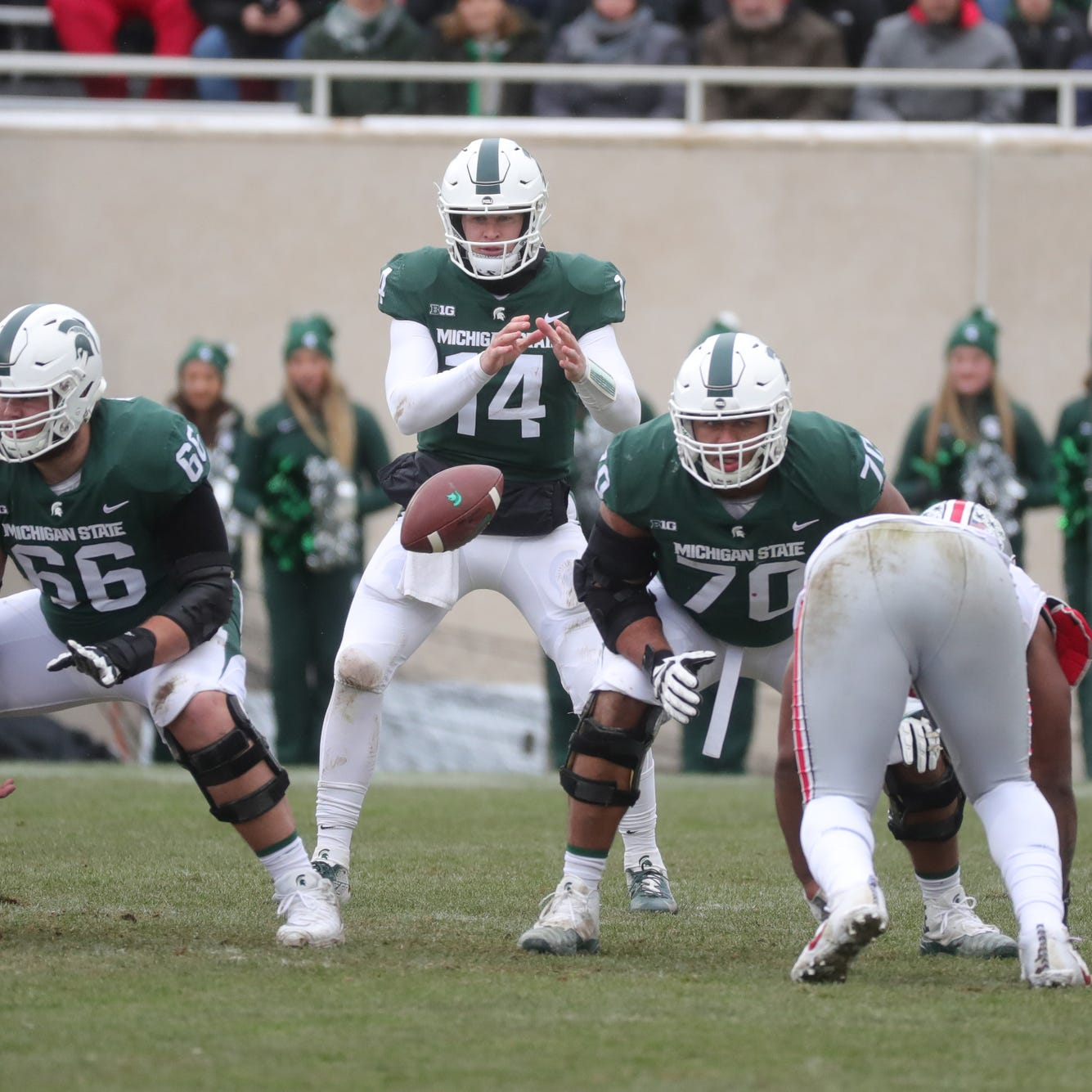 Michigan State football spring depth chart: Here's our prediction