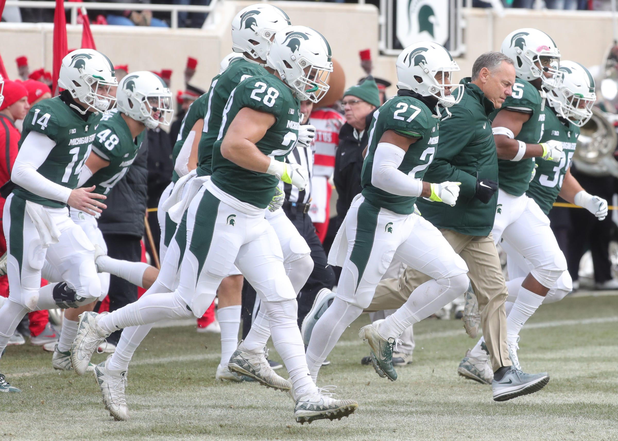 Michigan State Implodes In 4th Quarter In 26 6 Loss To Osu