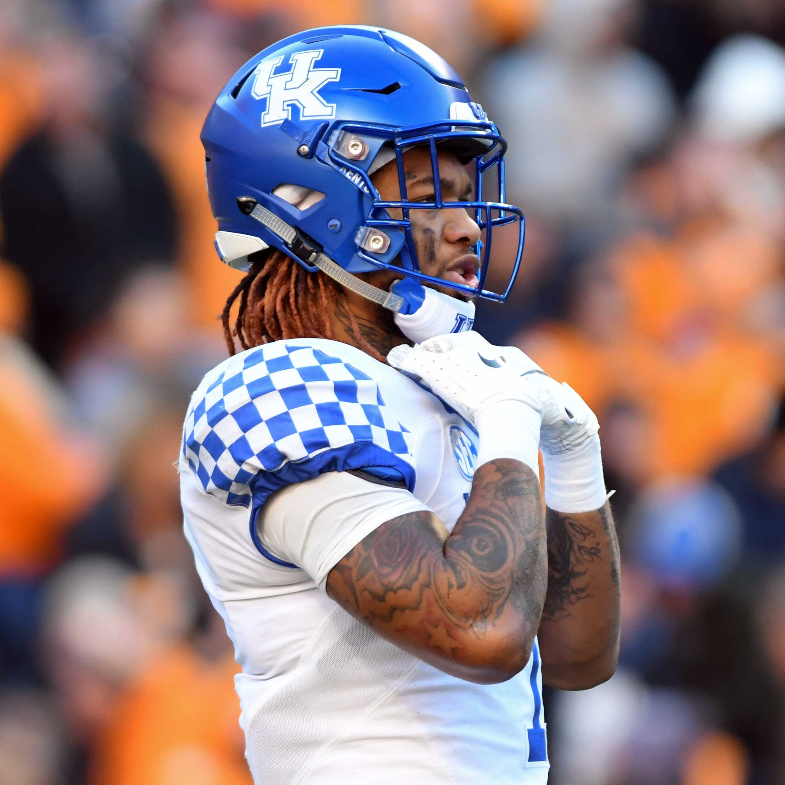 25. Kentucky (7-3) | Last game: Lost to Tennessee, 24-7 | Previous ranking: 17