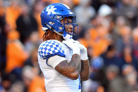 Ncaa Football Kentucky At Tennessee