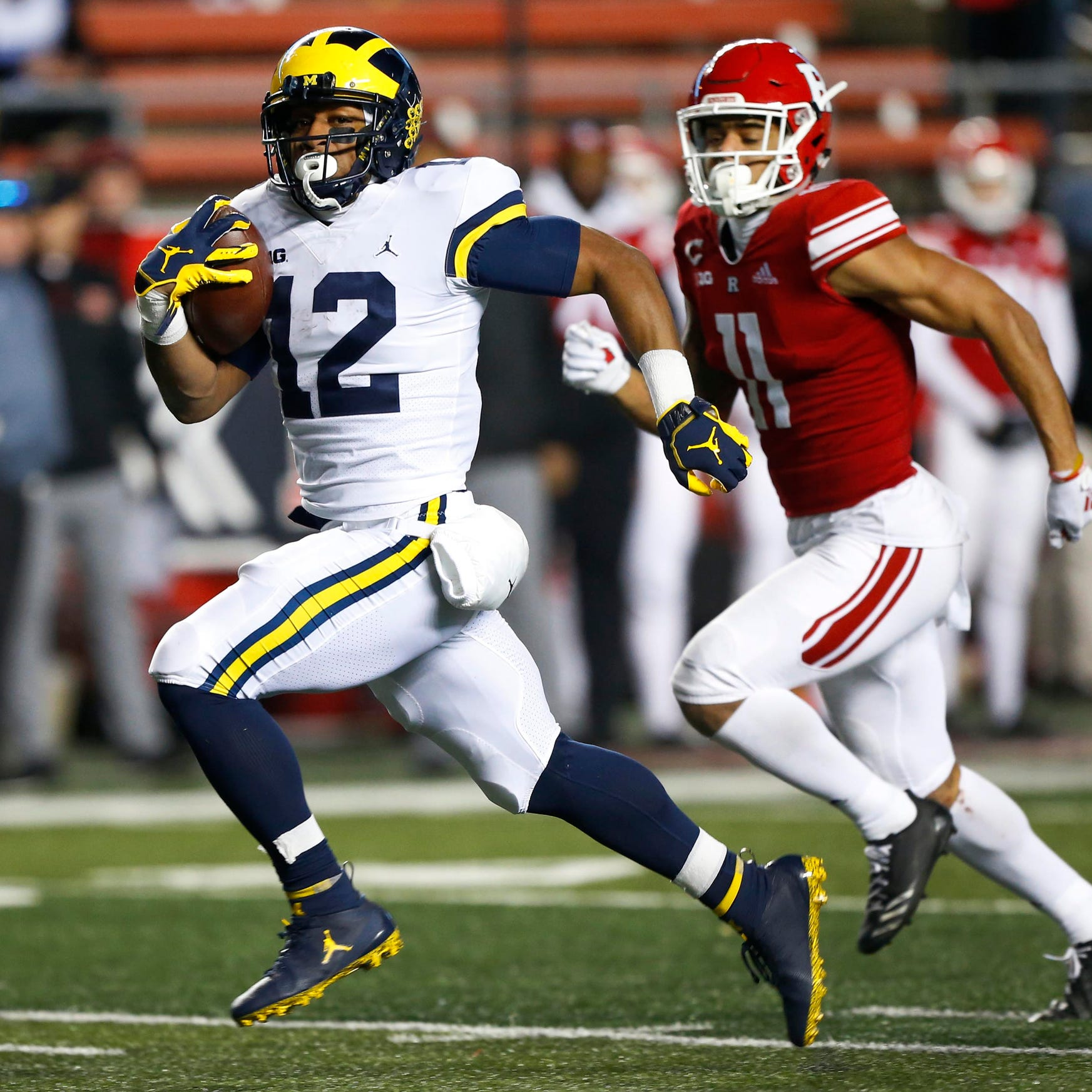 Michigan football loses RB production but welcomes talented youth