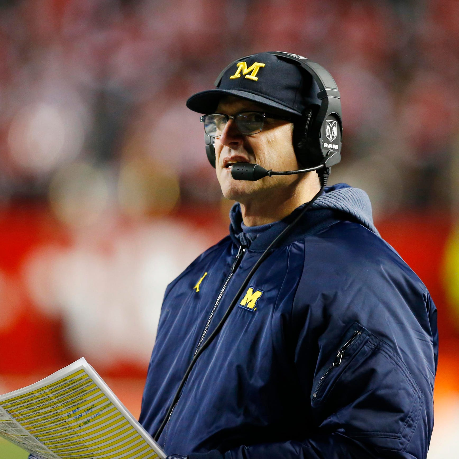Jim Harbaugh stubbornness, creativity ignites Michigan football
