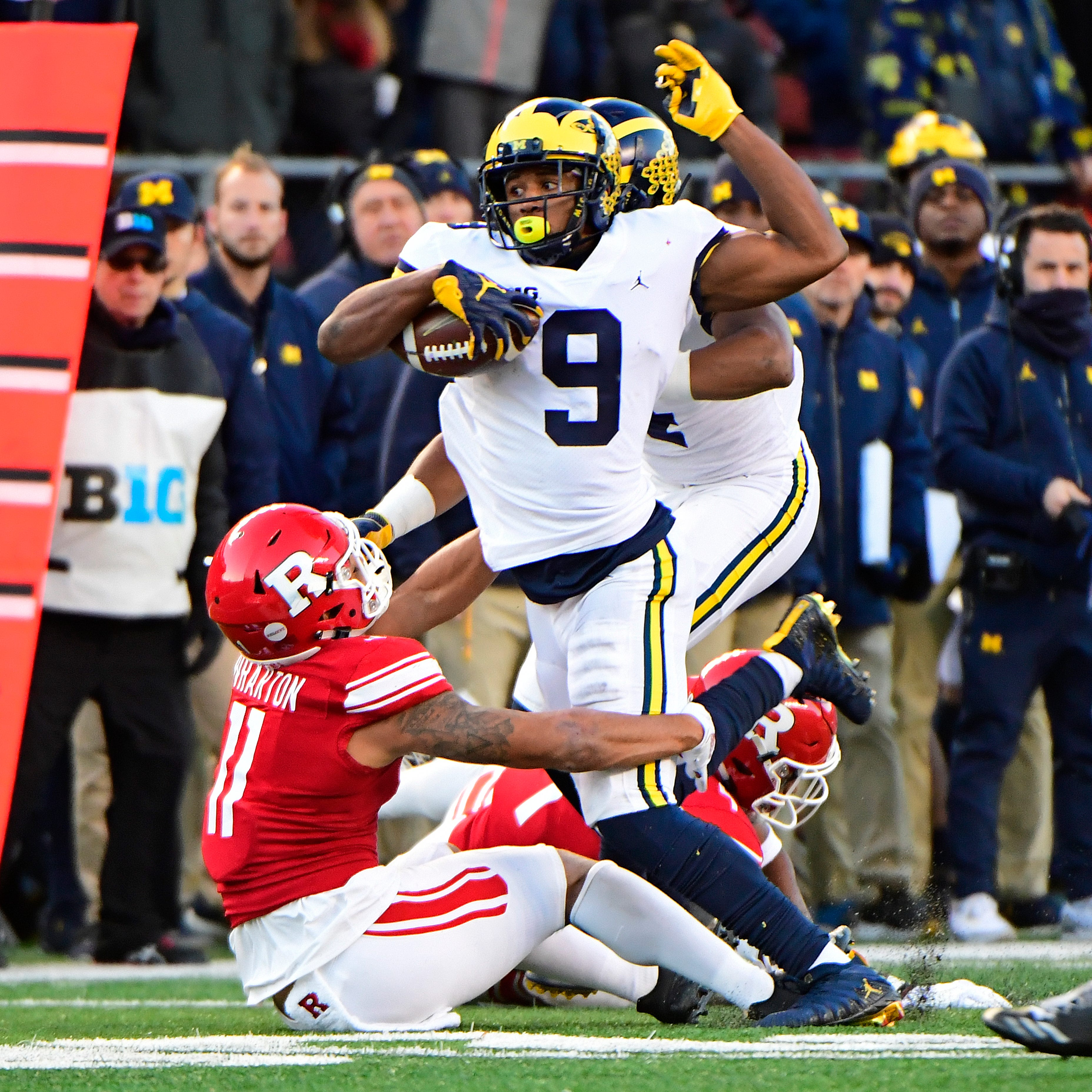 Michigan football's Donovan Peoples-Jones is quiet. His 2018 hasn't been