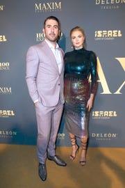 Model Kate Upton and husband, former Detroit Tigers pitcher Justin Verlander