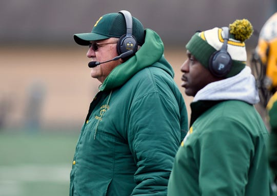 Saturday's loss to Chelsea was  John Herrington's final game as Farmington Hills Harrison's head coach. The school is closing its doors after the 2018-19 school year.