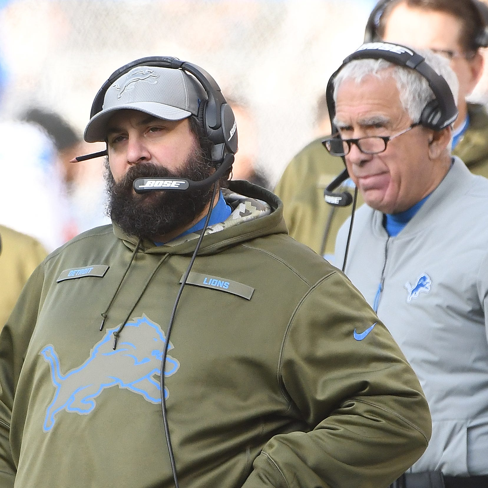 Lions players back Matt Patricia after third straight loss