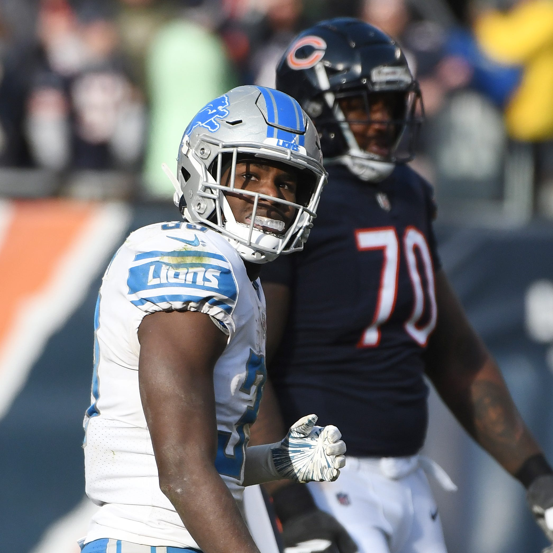 Lions place Kerryon Johnson on IR, activate Agnew