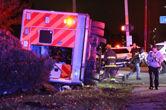 Chicago and Linwood crash