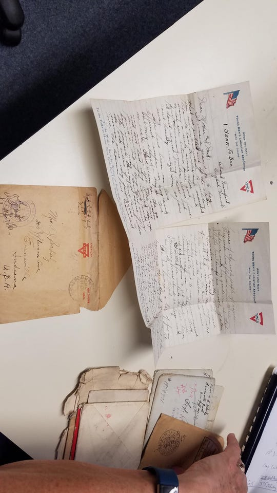 Letters from Chester Schulz.