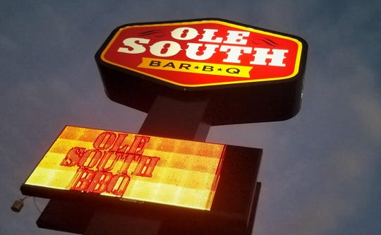 Ole South Bar-B-Q is less well known in Evansville but very worth a stop. Why not try a bit of everything on their buffet?