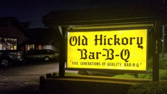 Old Hickory Bar-B-Q celebrated their 100th Anniversary in 2018.