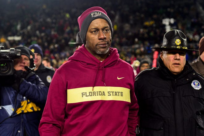 With four losses over his past five games, Florida State head coach Willie Taggart is in serious jeopardy of leading his team to their first losing season since 1976.