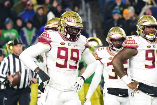 With another lackluster performance on Saturday night at Notre Dame Stadium, Florida State's defense has now surrendered over 40 points in three consecutive games.