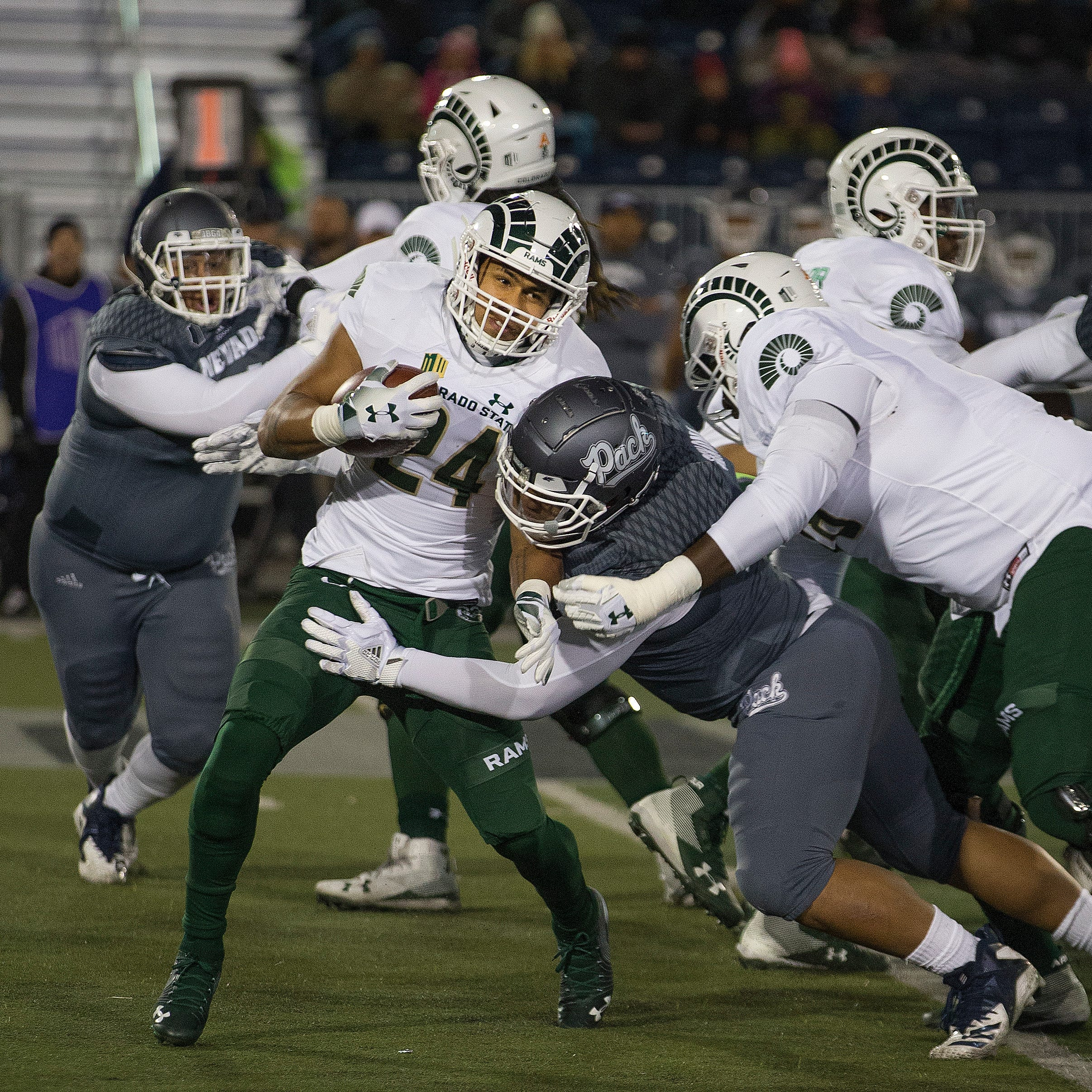 Live score, updates: Colorado State University football takes on Nevada in Mountain West football game