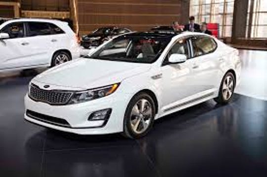 The 2014 and 2015 Kia Optima, pictured here, accounts for a growing number of non-crash fire insurance claims.