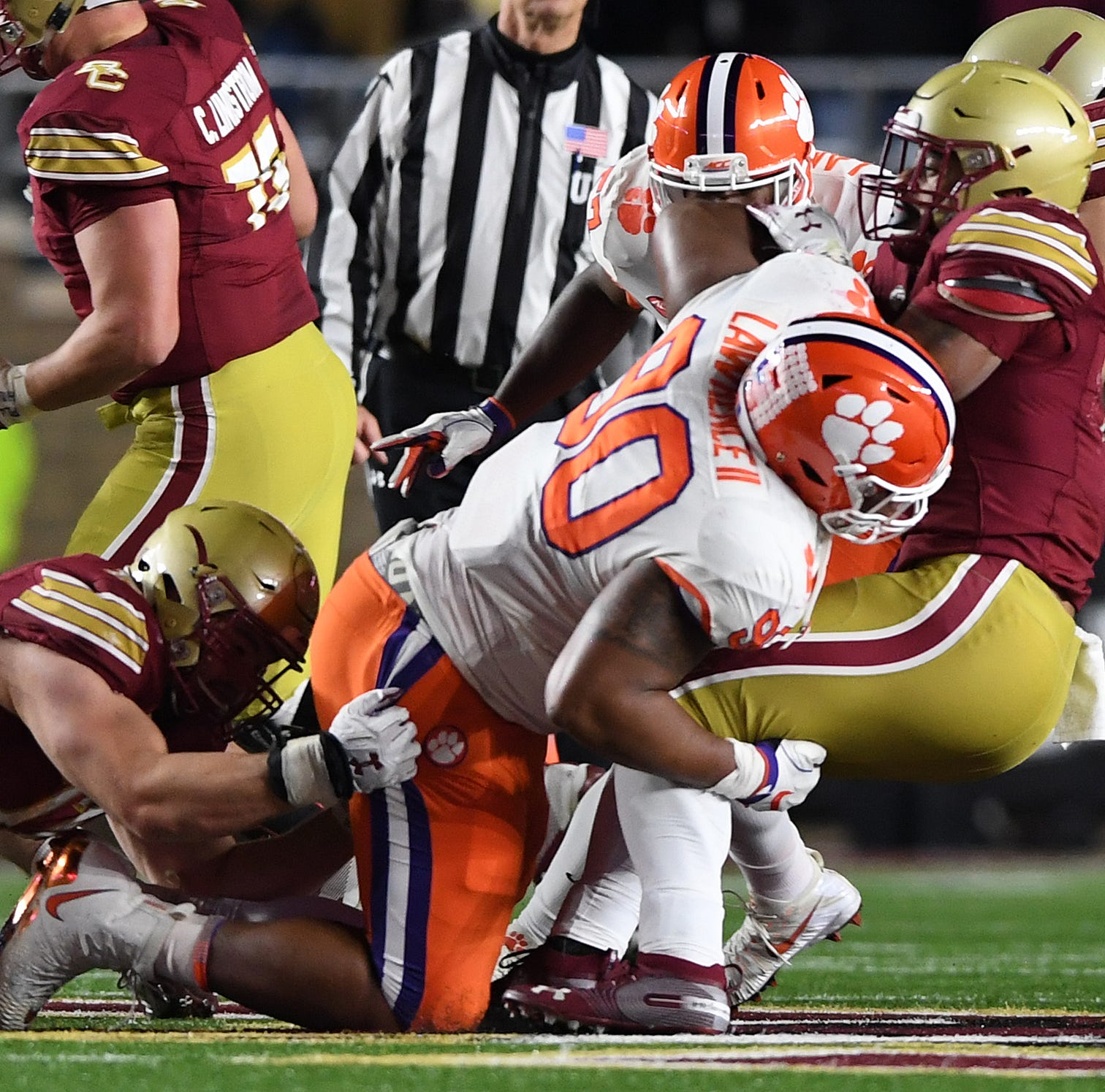 The numbers behind Clemson's division-clinching win over Boston College