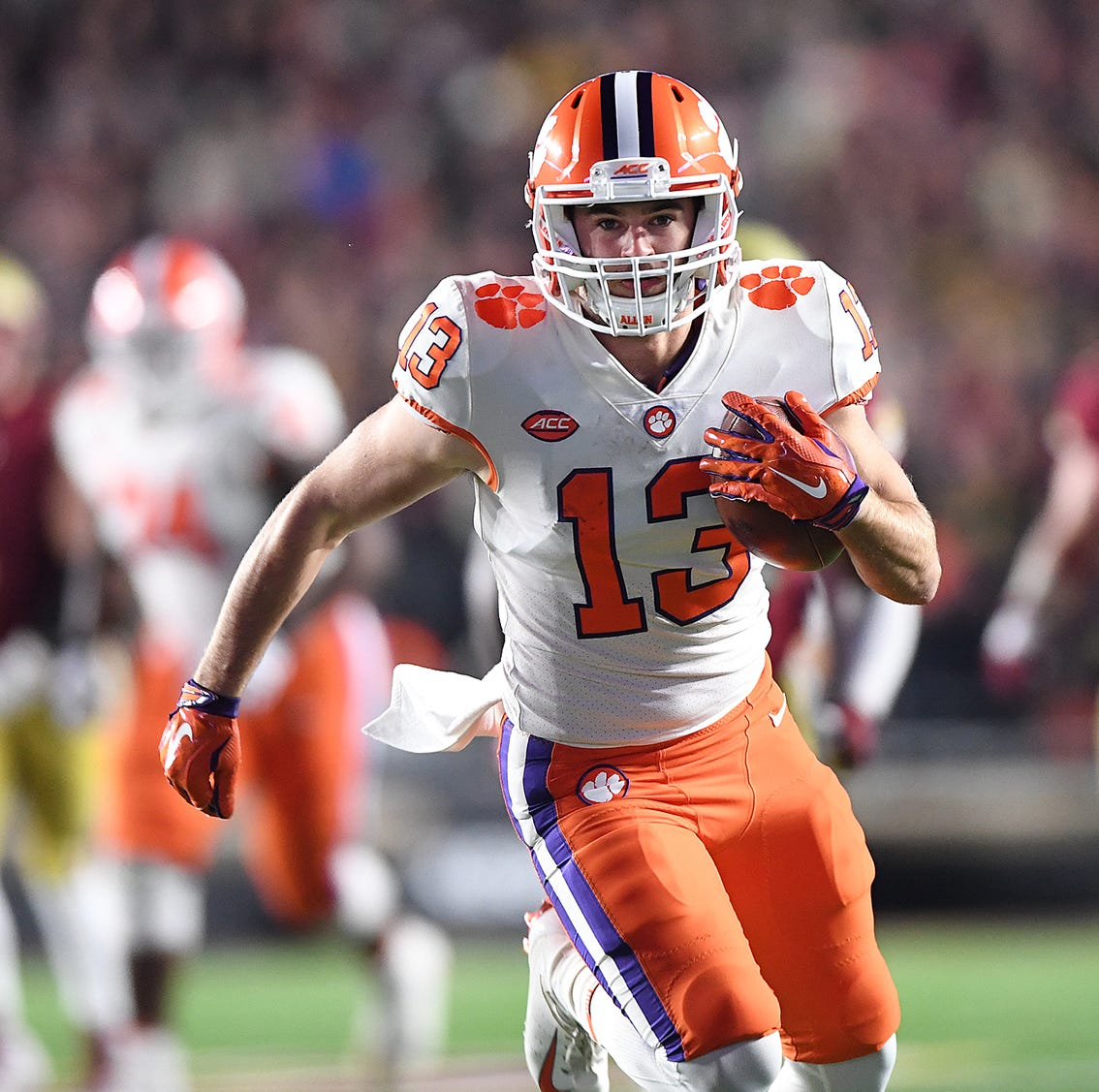 Hunter Renfrow's sound philosophy has helped Clemson claim four straight division titles