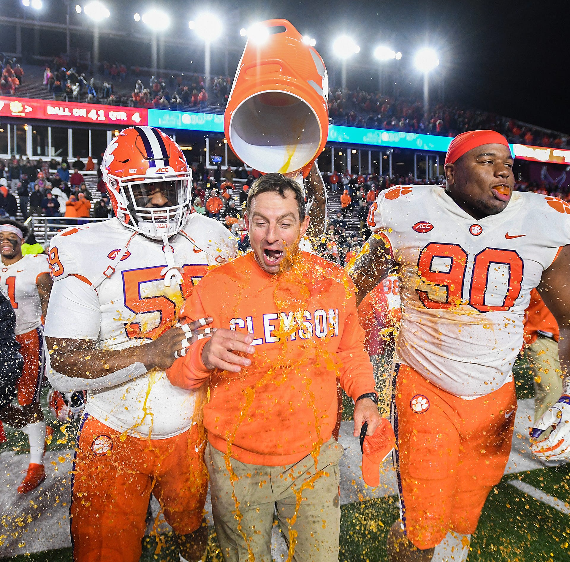 Defense steals spotlight as Clemson football wins another Atlantic Division title