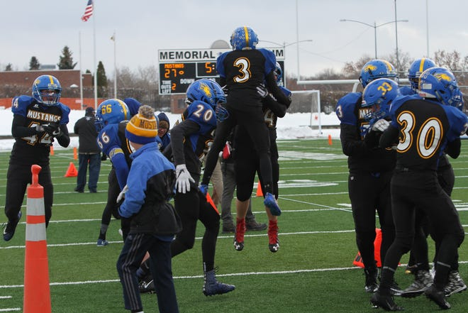 Great Falls Central defeated Fairview last week in the semifinals of the Class C eight-man playoffs at Memorial Stadium in Great Falls.