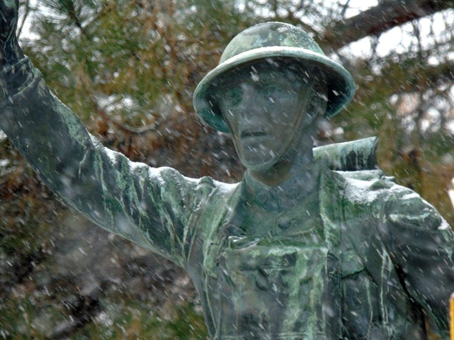 Fort Benton's Doughboy statue honors the local men who died in World War I.