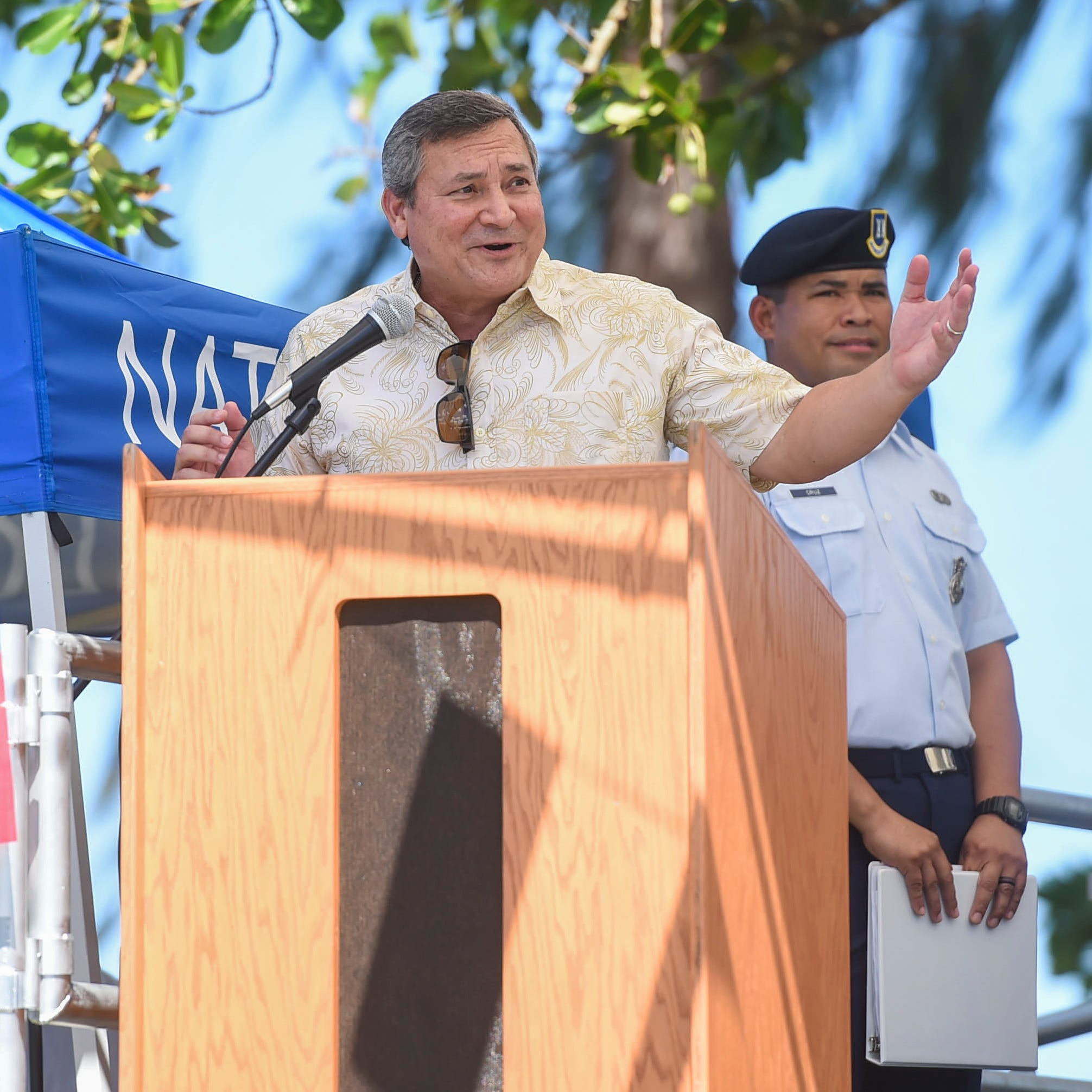 Gov. Eddie Calvo declares Black Friday as a government holiday on Guam